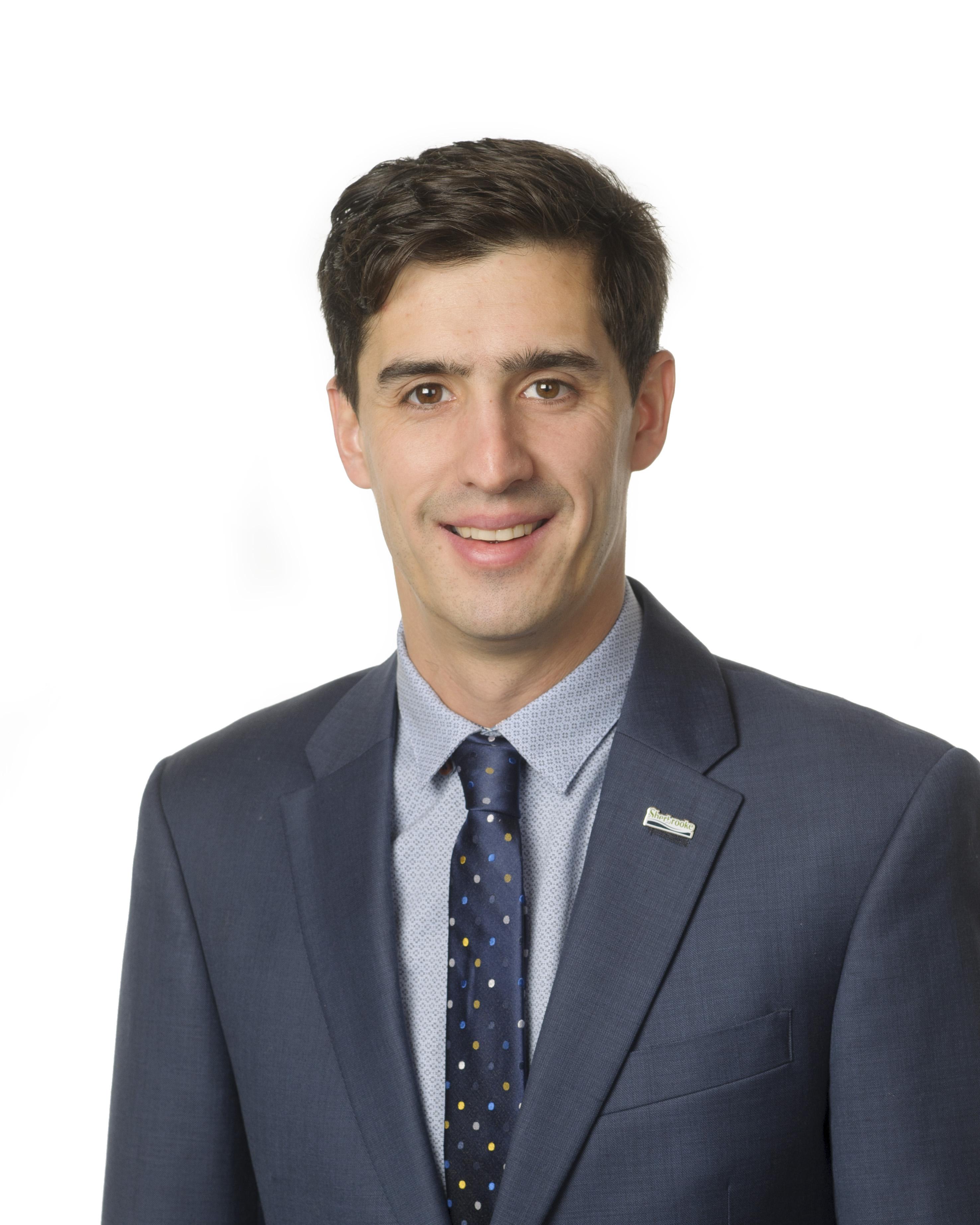 Vincent Boutin - Représentant de la ville de Sherbrooke - Membre CA d'Excellence Sportive Sherbrooke